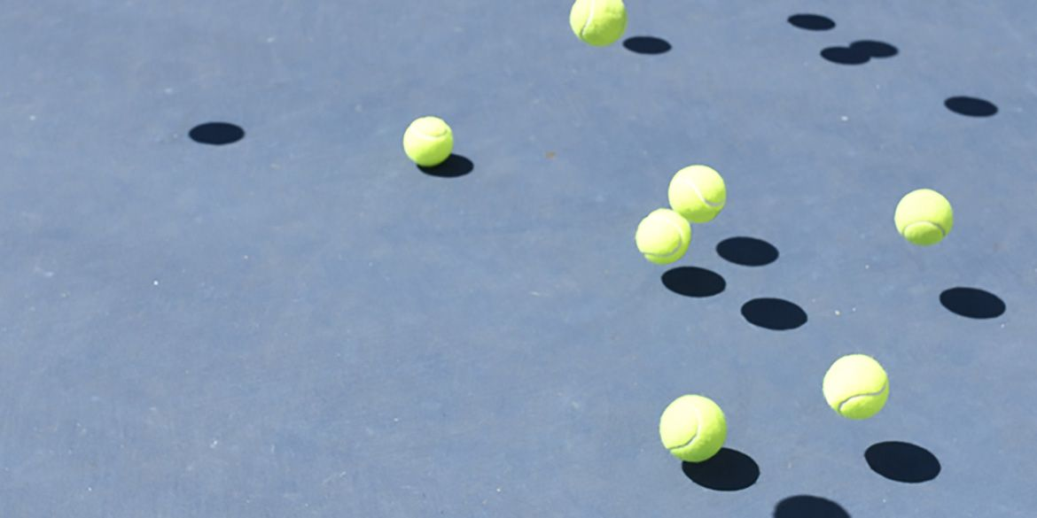 Discarding A Second Ball When Serving