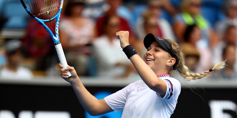 Career-best wins for Anisimova, Collins, Tiafoe in Australia