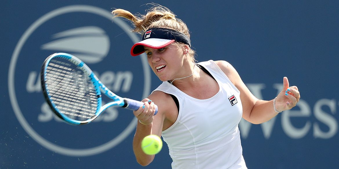 2020 Us Open Series Interview Sofia Kenin