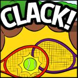 Doubles racquet clash