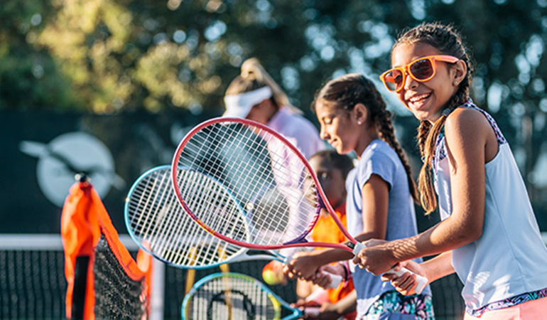 Official Youth Tennis of the USTA.
