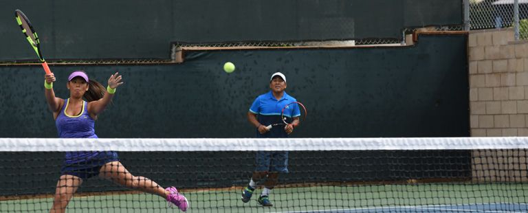 Get more details about how to get on a USTA League team.