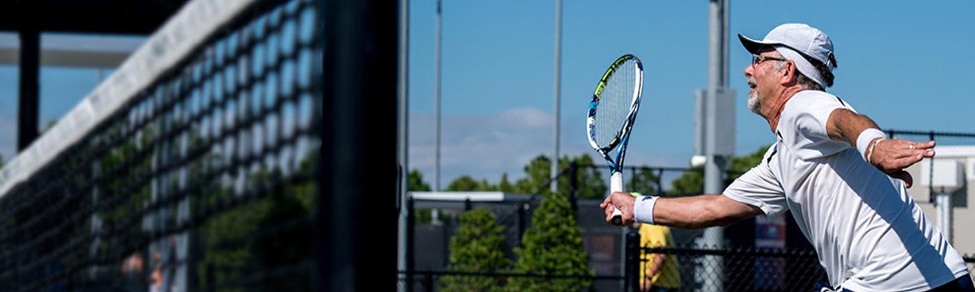 Senior Tennis Leagues And Tournaments