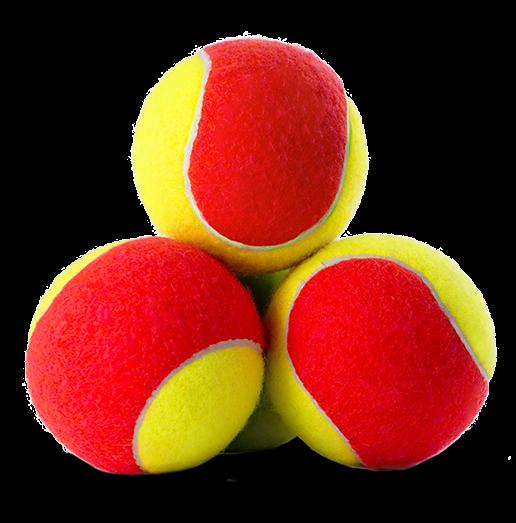 Balls tort red