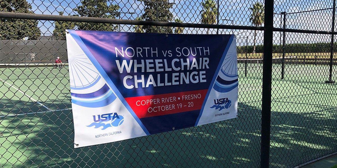 North South Wheelchair Challenge Banner