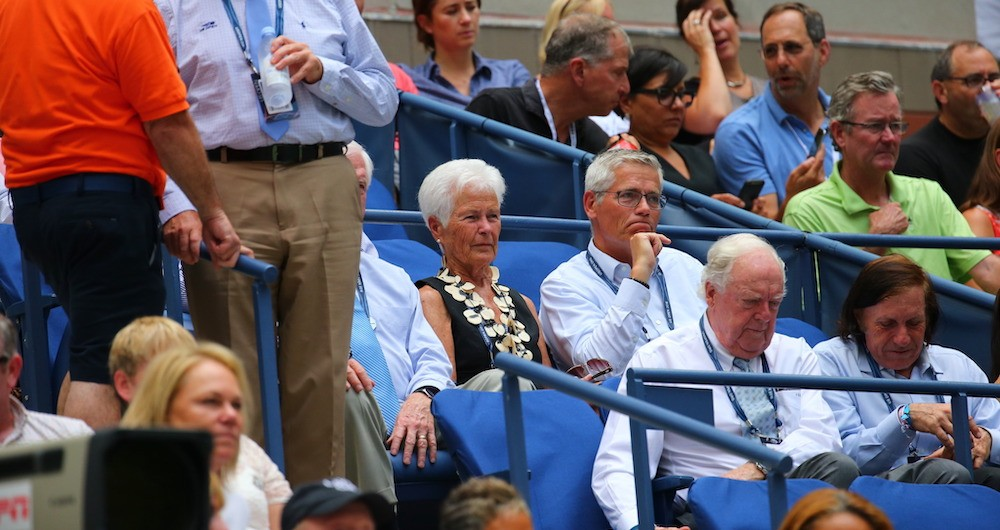 Levering at the US Open in 2016. (Photo credit: Getty Images)