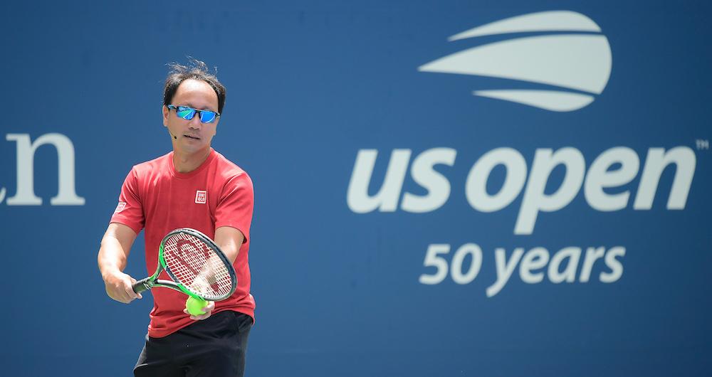Michael Chang en el 2019  US Open. (Crédito de la foto: Getty Images)